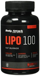 Body Attack LIPO 100 Test